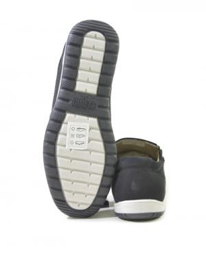 508297-08-02 черный нубук Полуботинки