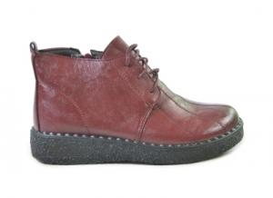 8857-9 красн ботинки женские