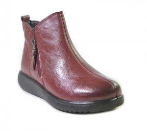 8862-9 красн ботинки женские