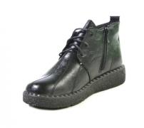 8857-1 черн ботинки женские