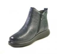 8862-7 синий ботинки женские