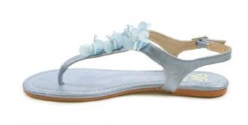Туфли женские летние 009-01-BU-16 -PP